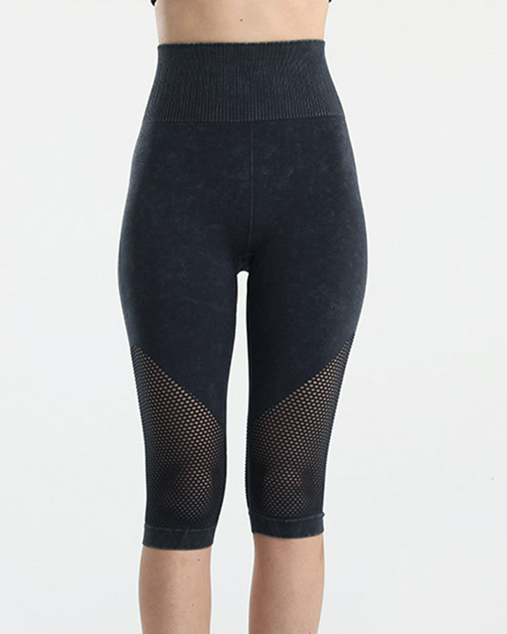 Fishnet Wide Waist Band Sports Shorts gallery 2