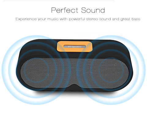 Bluetooth Speaker Portable Wireless Player Dual Driver gallery 11
