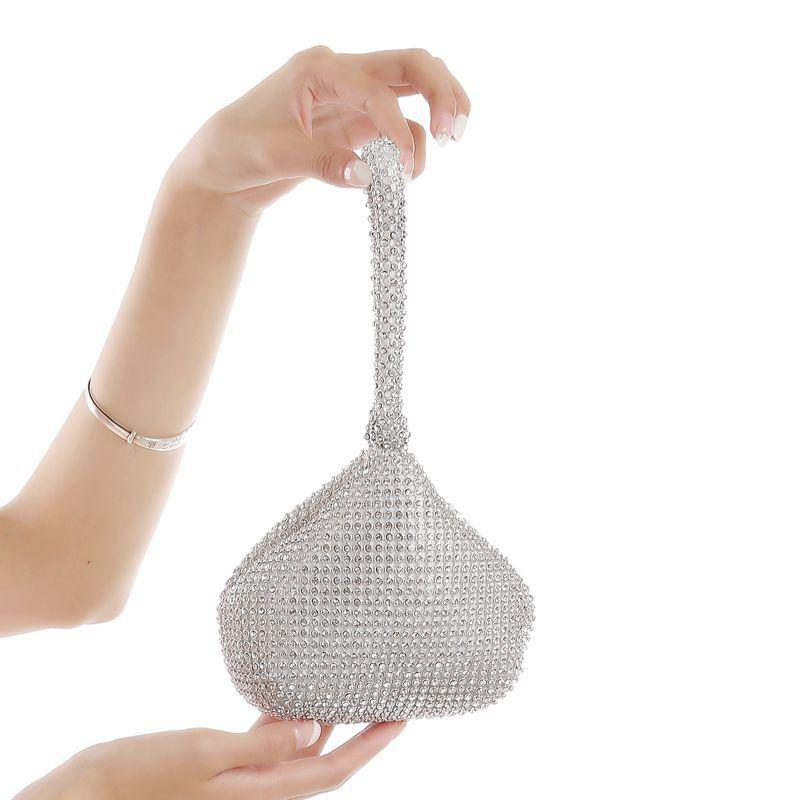 Creative Design Rhinestone Evening Bag Clutch Purses