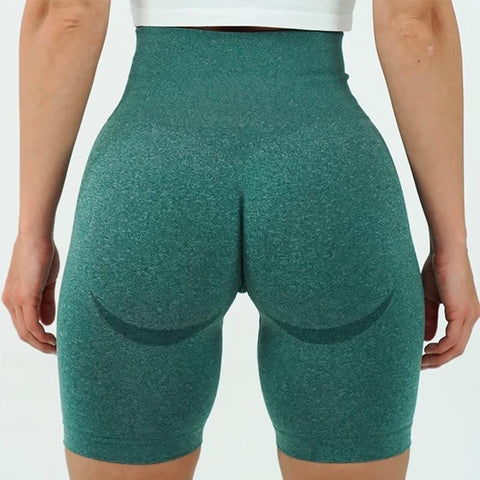 Beauty Contour Wide Waistband Sports Shorts gallery 8