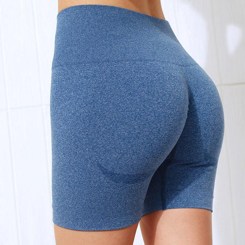 Beauty Contour Wide Waistband Sports Shorts gallery 10