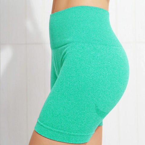 Beauty Contour Wide Waistband Sports Shorts gallery 12