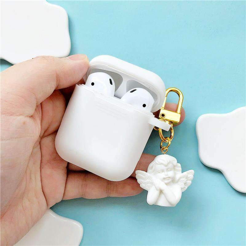 Pure Angel Silicone Protective Cover Case for Apple AirPods