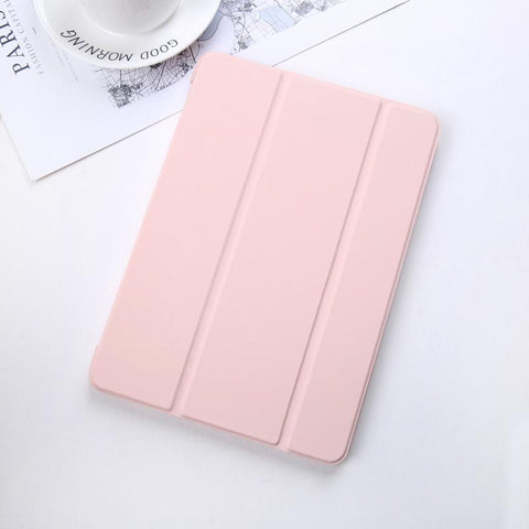 Pure Color Foldable iPad Cover Case gallery 6