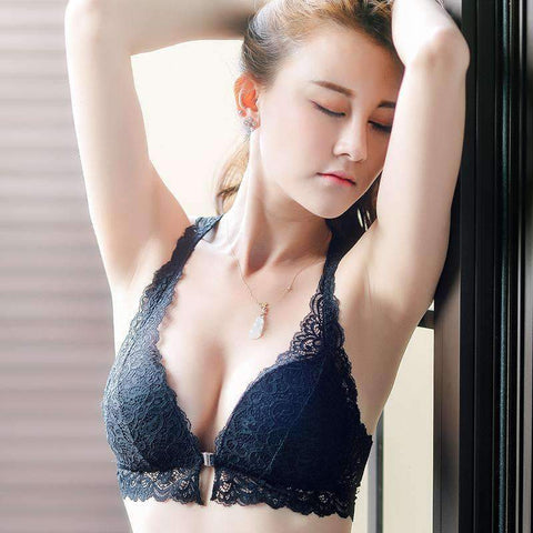 Front Hasp Sexy Lace Lingerie Set gallery 6