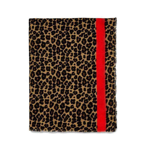 Autumn Winter Pashmina Scarf Dual Purpose Thickening Leopard Print Shawl For Women gallery 2