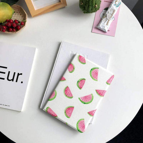 Contracted Fresh Watermelon Painted Apple iPad Cover Case gallery 1
