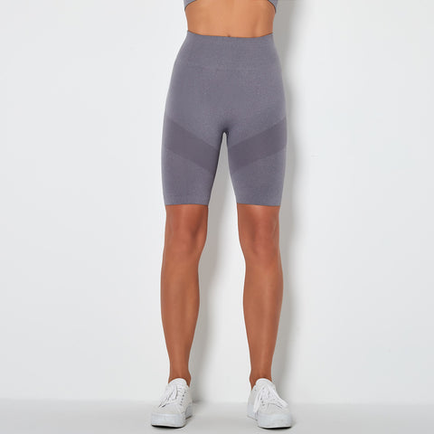 Contrast Panel Wide Waistband Sports Shorts gallery 16