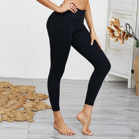 10 Colors Hip Lifting Hyper Flexible High-Rise Tummy Control Workout Leggings gallery 26
