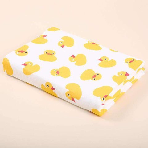 Muslin Swaddle Blankets With Cute Baby Friendly Cartoon Prints gallery 8