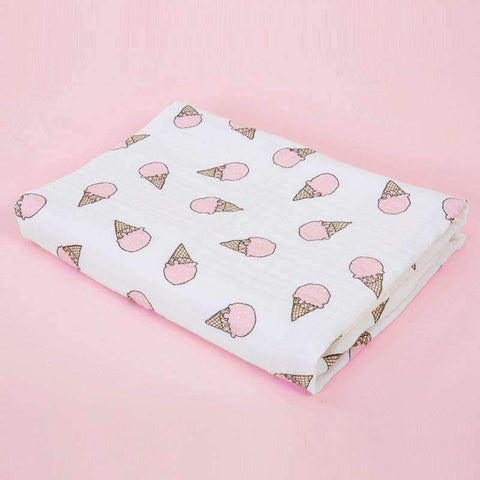 Muslin Swaddle Blankets With Cute Baby Friendly Cartoon Prints gallery 9