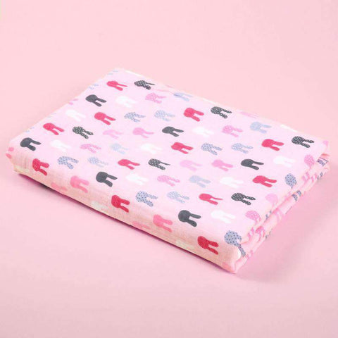 Muslin Swaddle Blankets With Cute Baby Friendly Cartoon Prints gallery 10