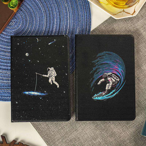 Space Astronaut Starry Sky Apple iPad Cover Case gallery 2