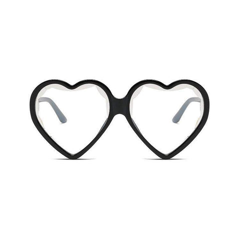 Candy Color Ombre Heart Shape Lens Sunglasses gallery 8