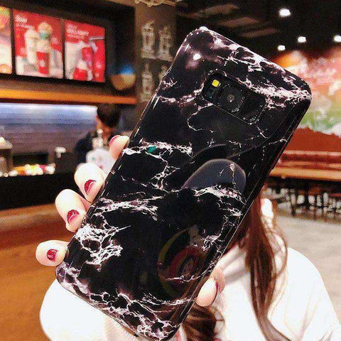 Simple Marbled Phone Case For Samsung gallery 3