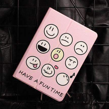 Cute Various Expressions Designed Apple iPad Cover Case gallery 4