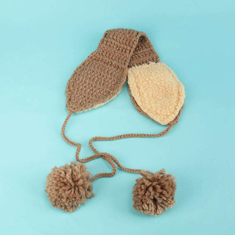 Women's Winter Cute Knitted Thick Ear Hat gallery 7