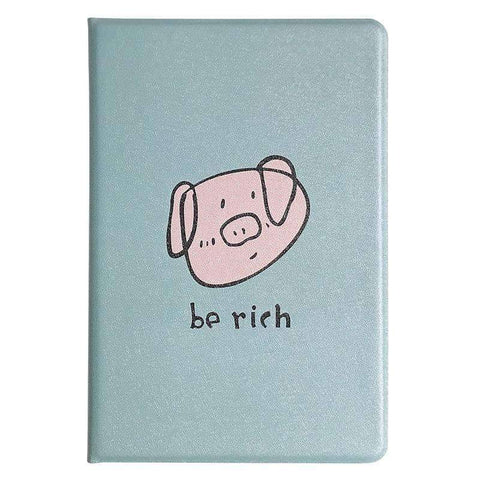 Cute Cartoon Pig Painted Apple iPad Cover Case gallery 4