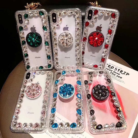 Ring Rhinestone Phone Case for Samsung with Phone Holder gallery 8
