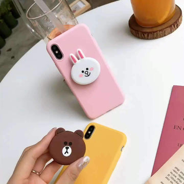 Line Friends iPhone Case With Phone Holder