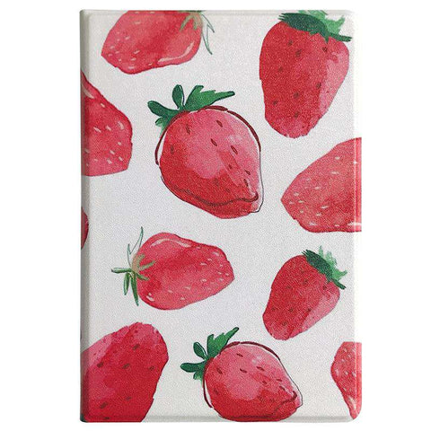 Literary Strawberry Painted Apple iPad Cover Case gallery 2