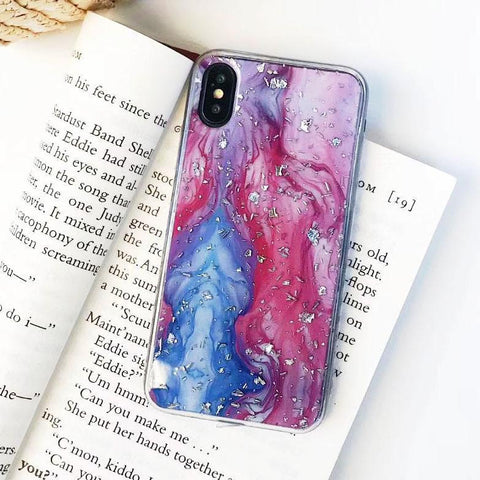 Abstract Watercolor Retro Art iPhone Case