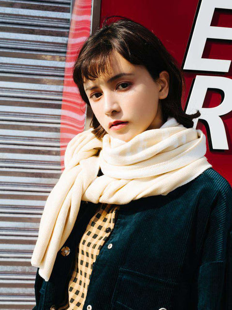 Long Warm Thick Woolen Scarves gallery 3