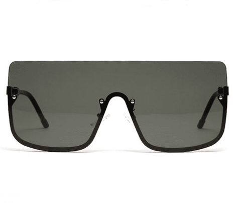 Chic Square Shape Windproof Lens with Half Frame Sunglasses gallery 14
