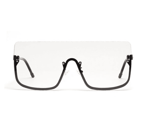 Chic Square Shape Windproof Lens with Half Frame Sunglasses gallery 15