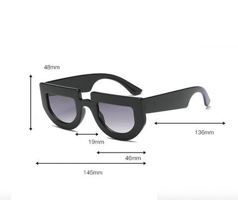 Chic Oval Shape Lens with wide Frame Sunglasses gallery 14