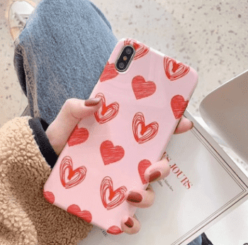 Pink Love iPhone Case