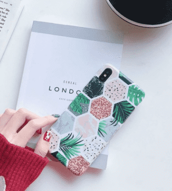 Frosted  iphone Case with Landscape