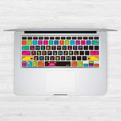 Ultra Thin Monster Designed Protective Keyboard Cover Sticker for Macbook