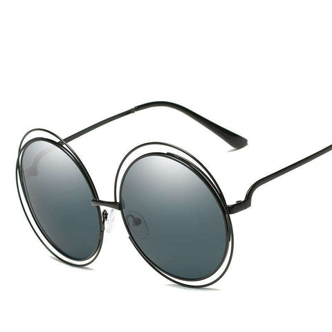Ombre Double Frame Hollowed Sunglasses gallery 1