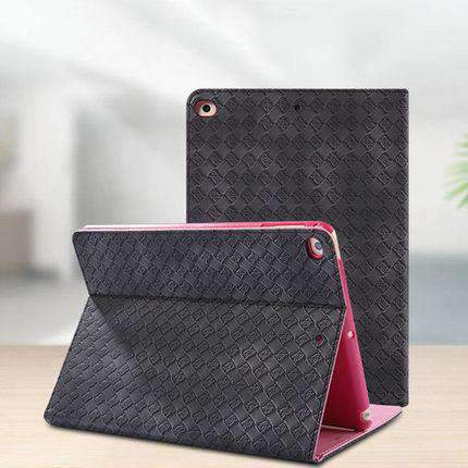 Classic Woven Leather Cover Case for Apple gallery 4