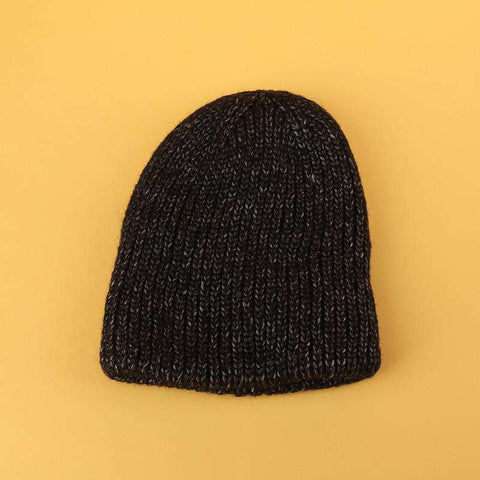 Candy Color Hand-knitted Simple and Thickened Hat gallery 8