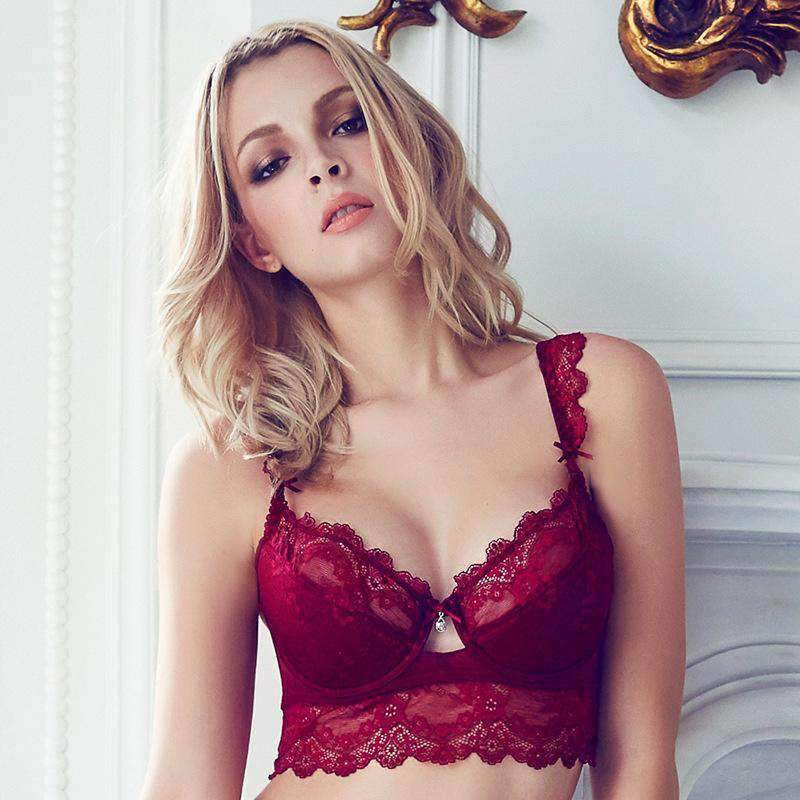 Women's Sexy Lace Push-up Lingerie Set
