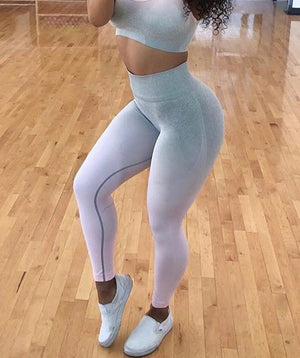 Ombre Space Dye Sports Leggings