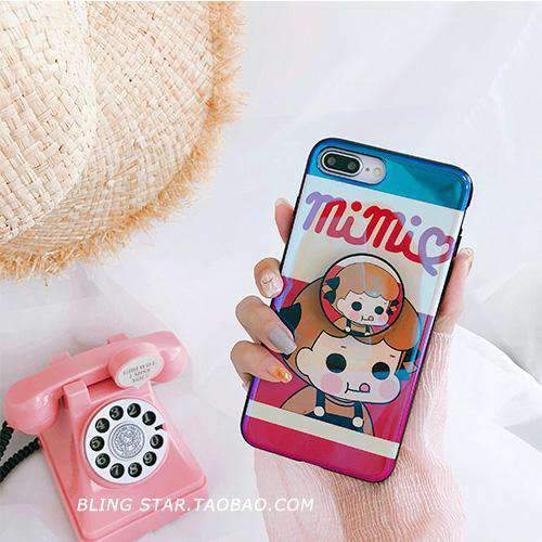 Foodie Girl  iPhone Case With Phone Holder