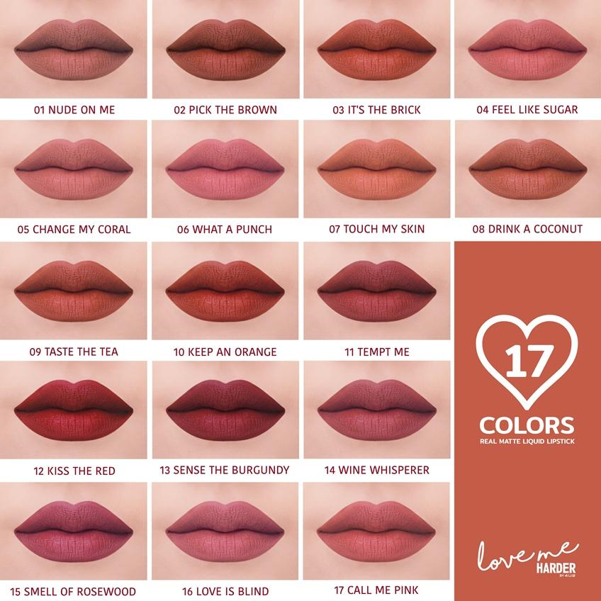 4U2 LOVE ME HARDER Real Matte Liquid Lipstick
