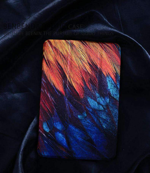 Contracted Feather Painted Apple iPad Cover Case gallery 3