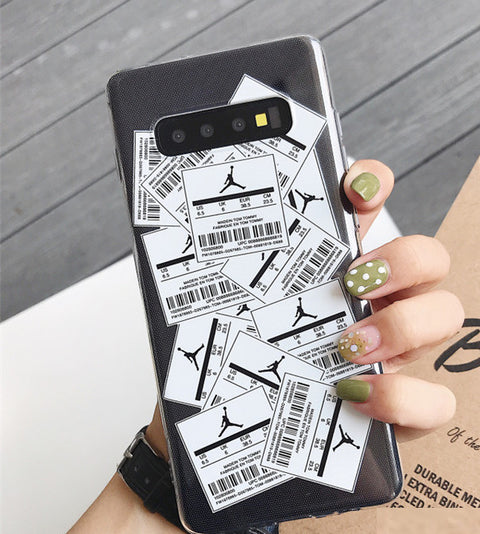 Random Labels Printed Phone Case For Samsung gallery 3