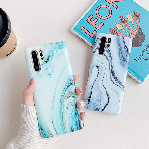 Frosted Motif Marble Phone Case for Samsung gallery 3
