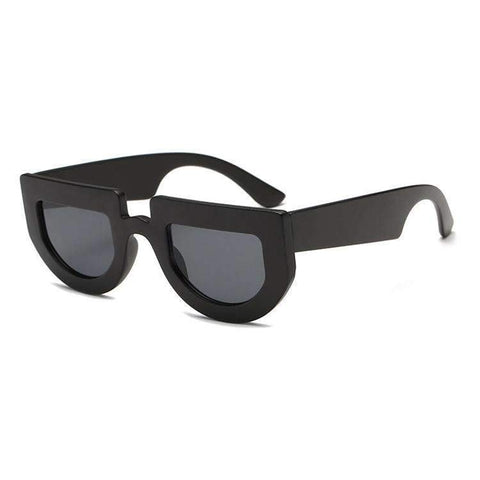Chic Oval Shape Lens with wide Frame Sunglasses gallery 3
