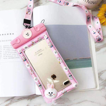 Cartoon iPhone Waterproof Bag
