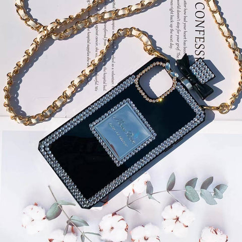 Luxury Perfume Design iPhone Case with Hand Strap gallery 3
