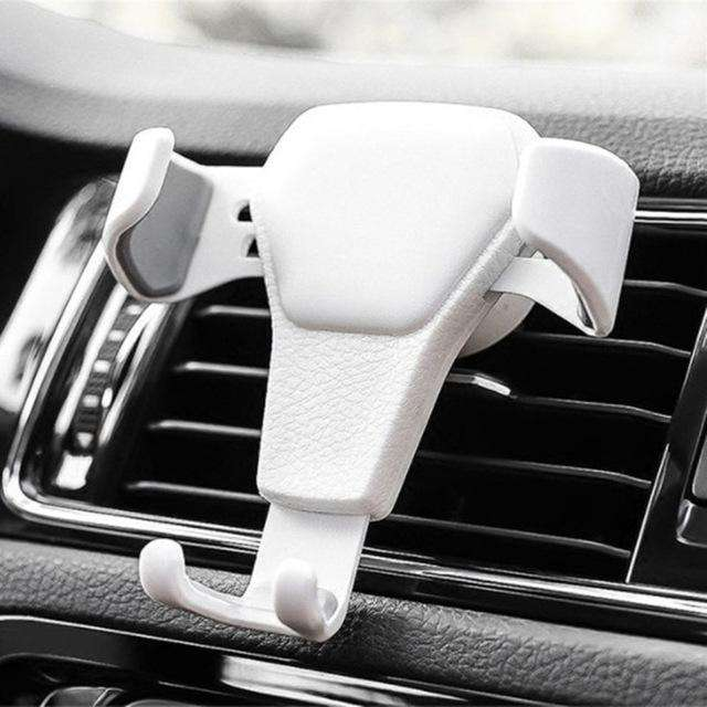 New Car Phone Holder For Phone In Car Air Vent Mount Stand No Magnetic Mobile Phone Holders Universal Gravity Smartphone