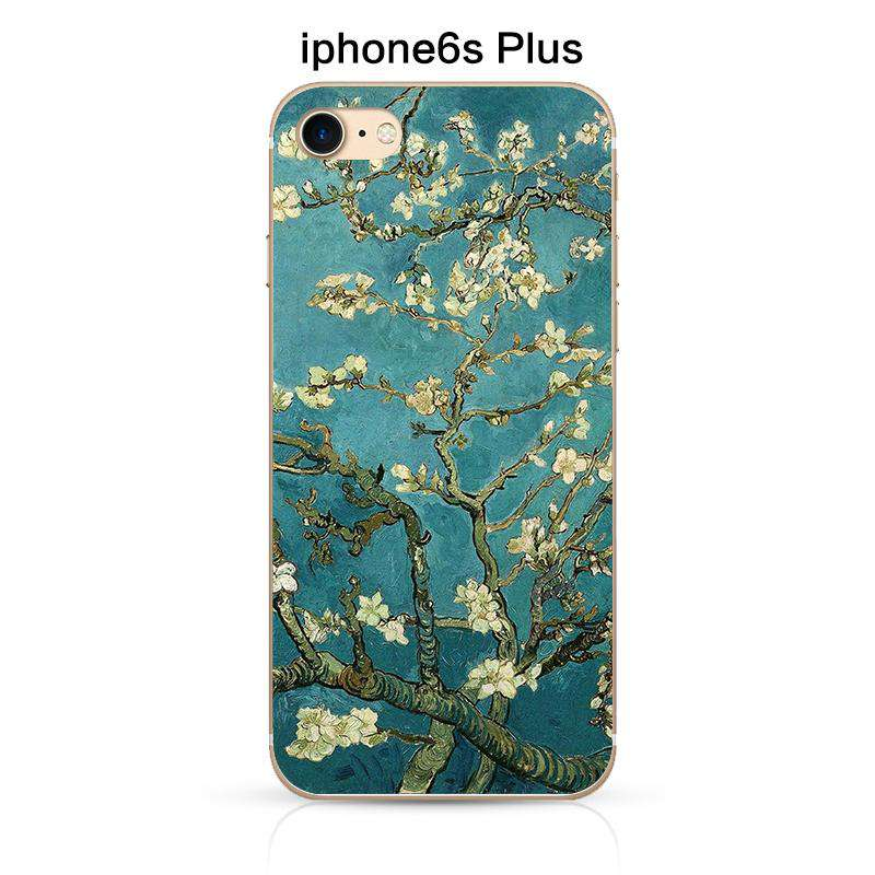 Vintage Van Gogh Painting Soft Phone Case for Apple iPhone