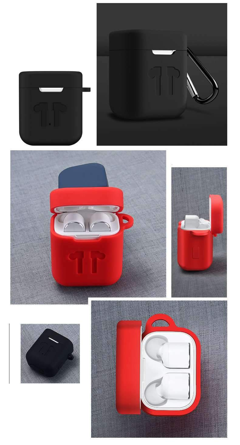 Concise Mini Silicone Protective Cover Case for Mi Bluetooth Earphone