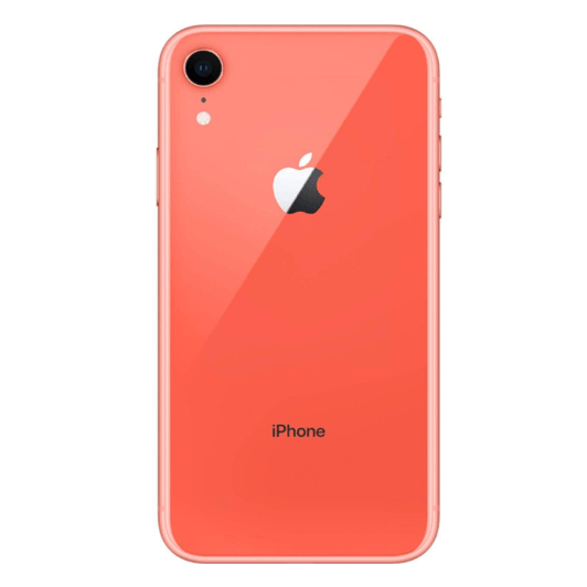 Apple iPhone XR, 64GB, Coral - Fully Unlocked (Renewed)